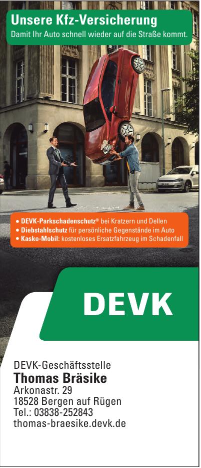 DEVK-Geschäftsstelle Thomas Bräsike
