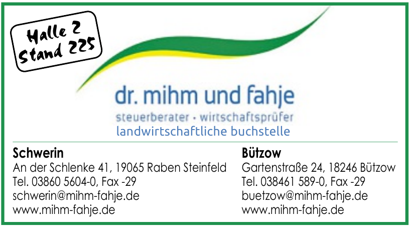 dr. mihm und fahje