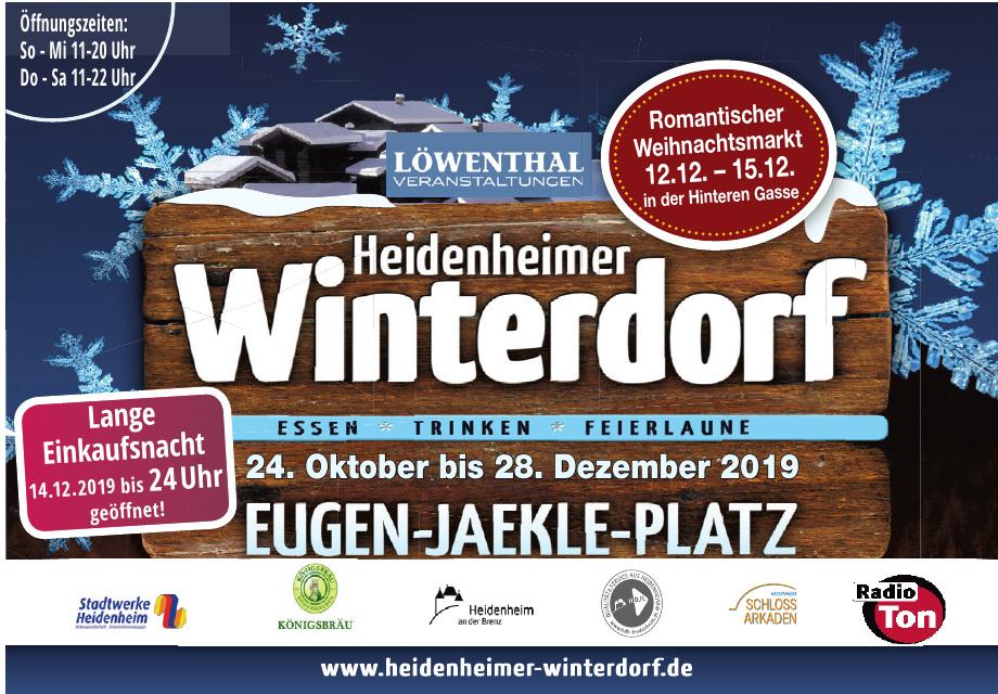 Heidenheimer Winterdorf