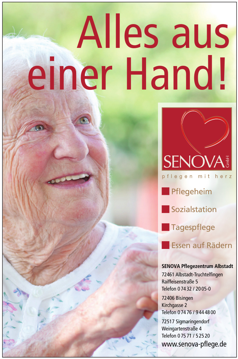SENOVA Pflegezentrum Albstadt