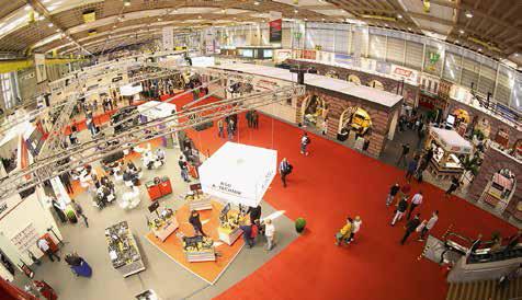 Die SAA-Expo (Halle 7) dauert vom 7. bis zum 11. März