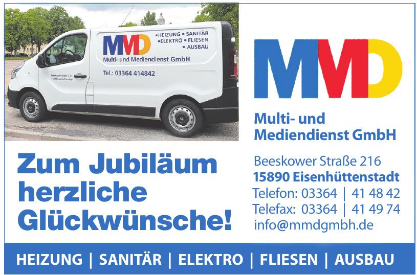 MMD Multi- und Mediendienst GmbH