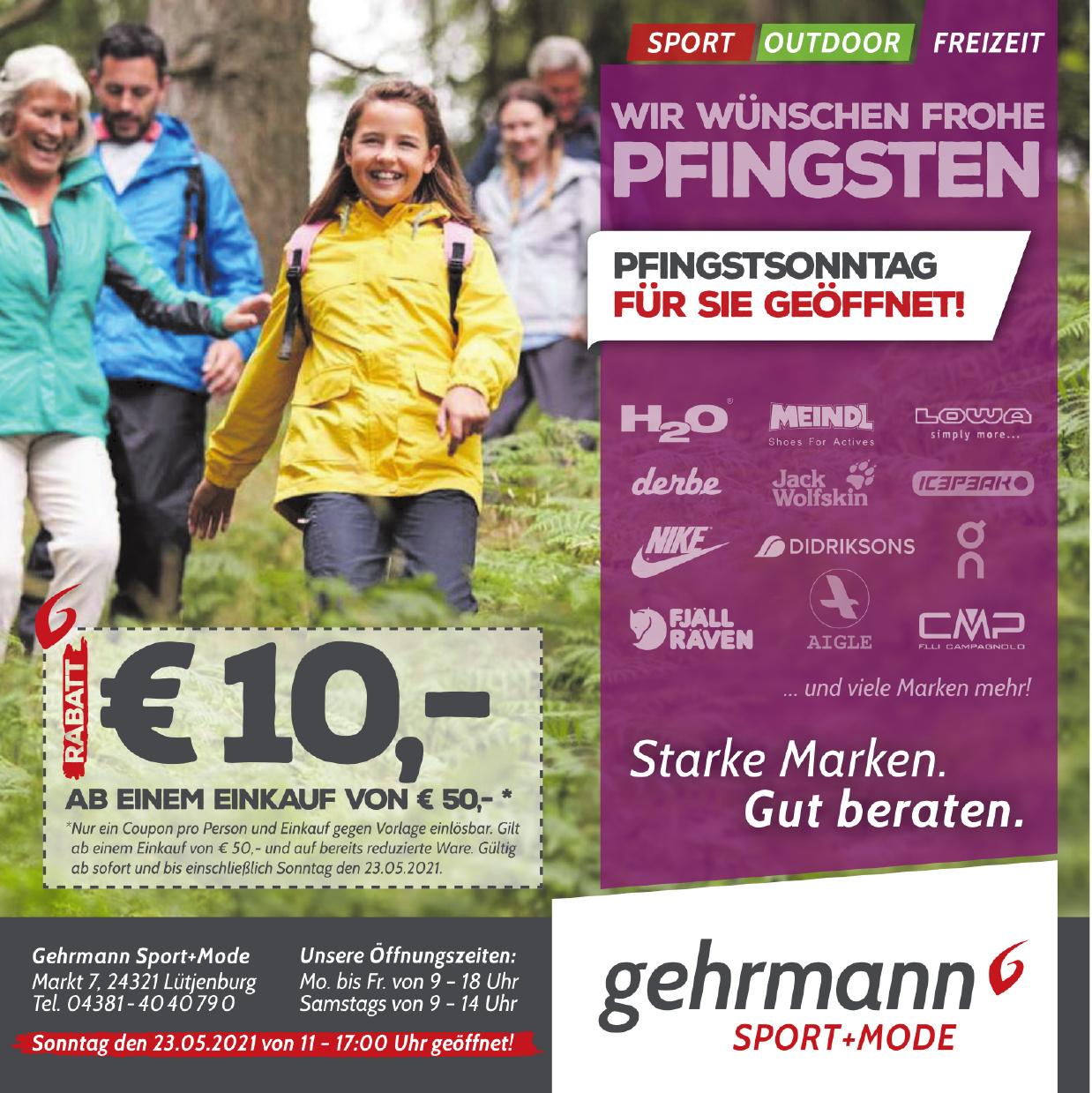 Gehrmann Sport+Mode