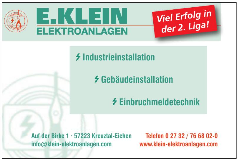 E. Klein Elektroanlagen