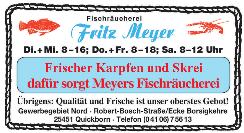 Fischräucherei Fritz Meyer