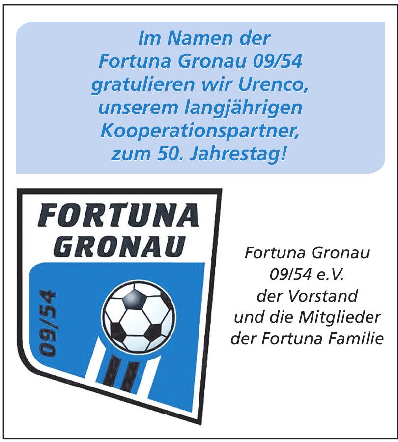 Fortuna Gronau 09/54 e.V.