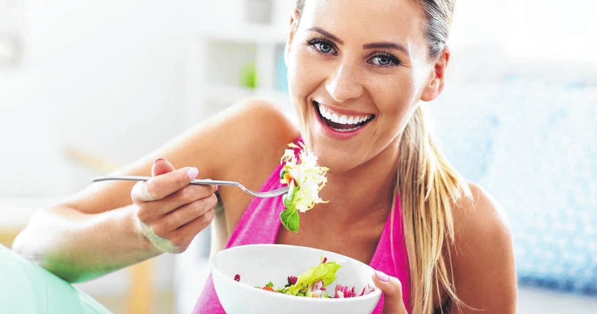 Ein gesunder Salat nach dem Training. FOTO: MACNIAK