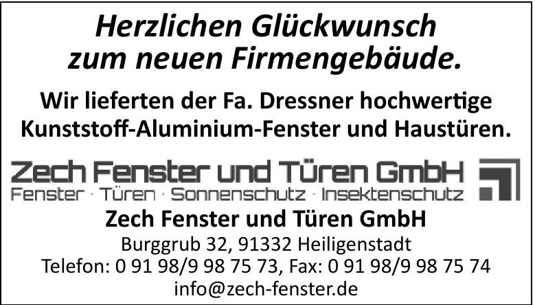 Zech Fenster und Türen GmbH