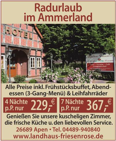 Radurlaub im Ammerland