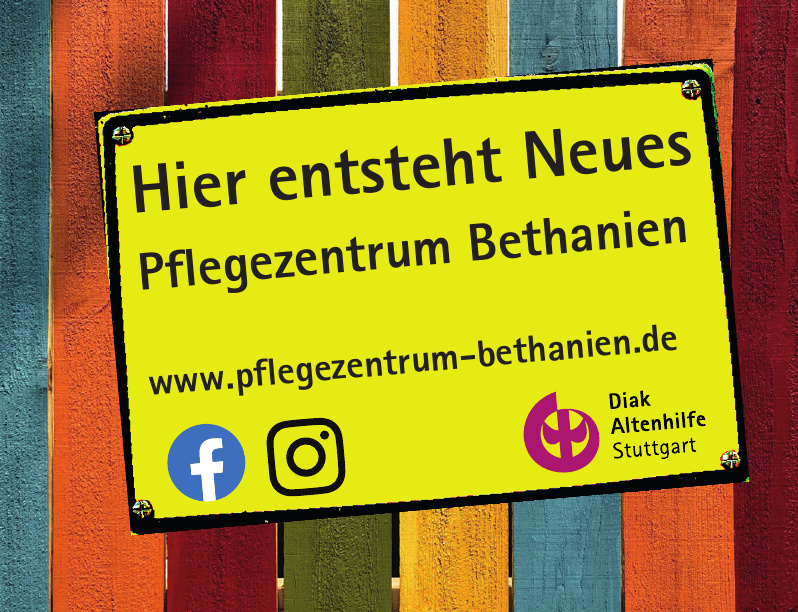 Diak Altenhilfe Stuttgart - Pflegezentrum Bethanien
