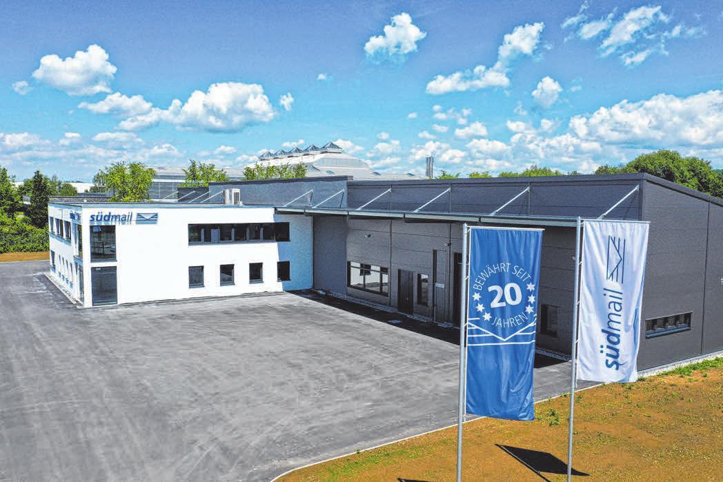 Im neuen Brief- und Logistikzentrum werden im Schnitt täglich 100 000 Sendungen verarbeitet. FOTO: FELIX KÄSTLE