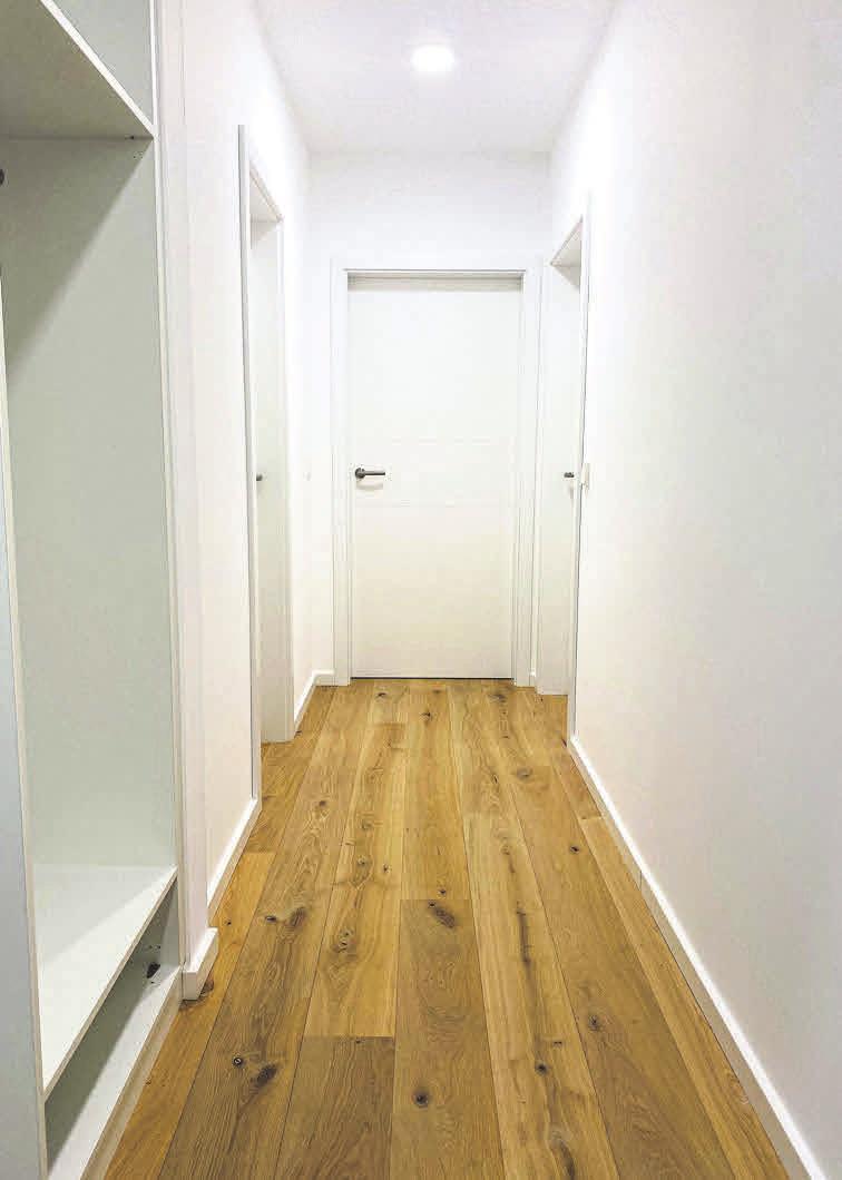 Mit kreativen Lösungen wertet Helmrich einen Korridor auf.