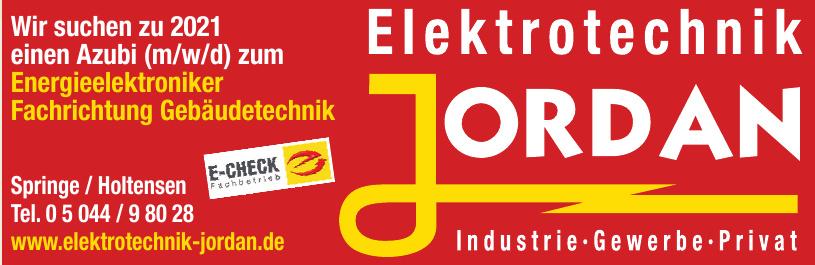 Elektrotechnik Jordan