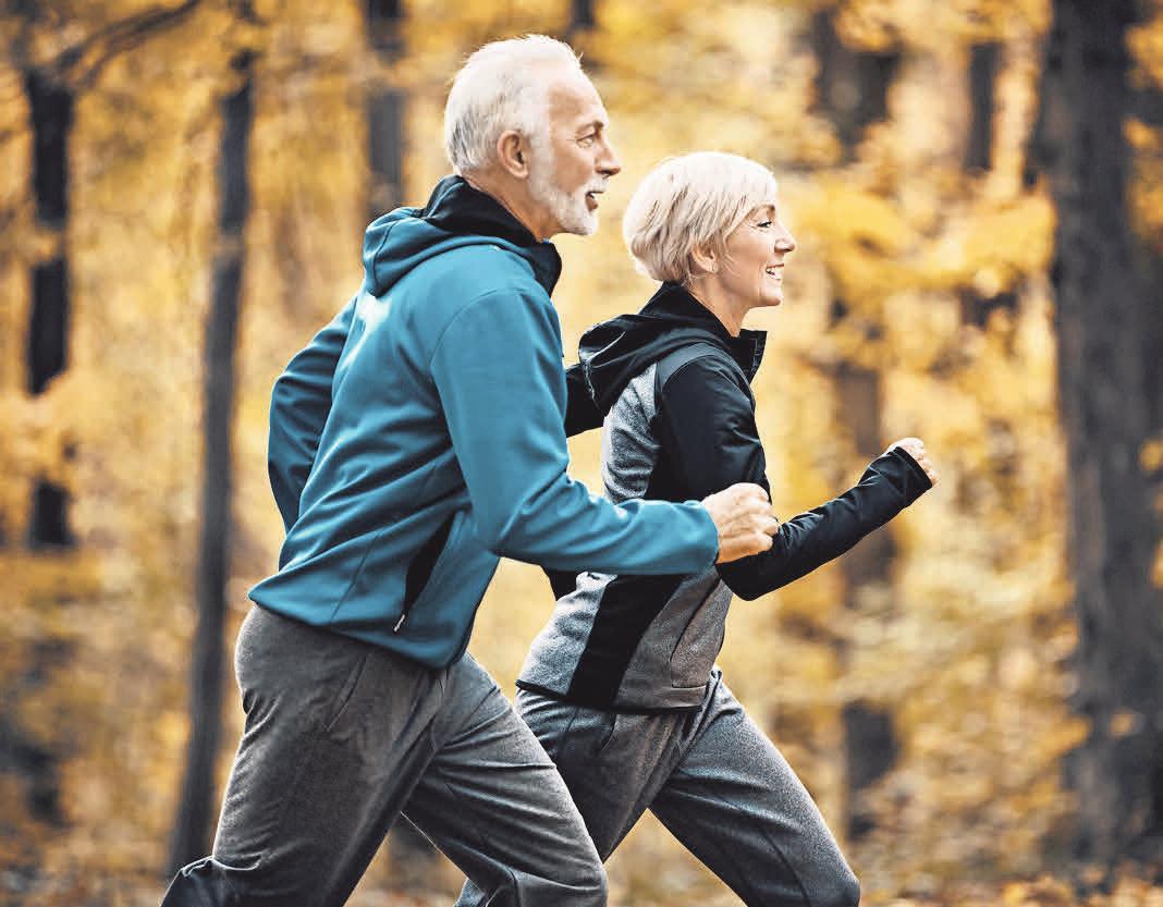 Ausdauersport aktiviert das Herzkreislaufsystem. istockphoto.com/gilaxia