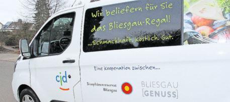 Das CJD Homburg übernimmt seit Frühjahr 2020 die Logistik der Bliesgau-Produkte und die Bestückung der Bliesgau-Regale.