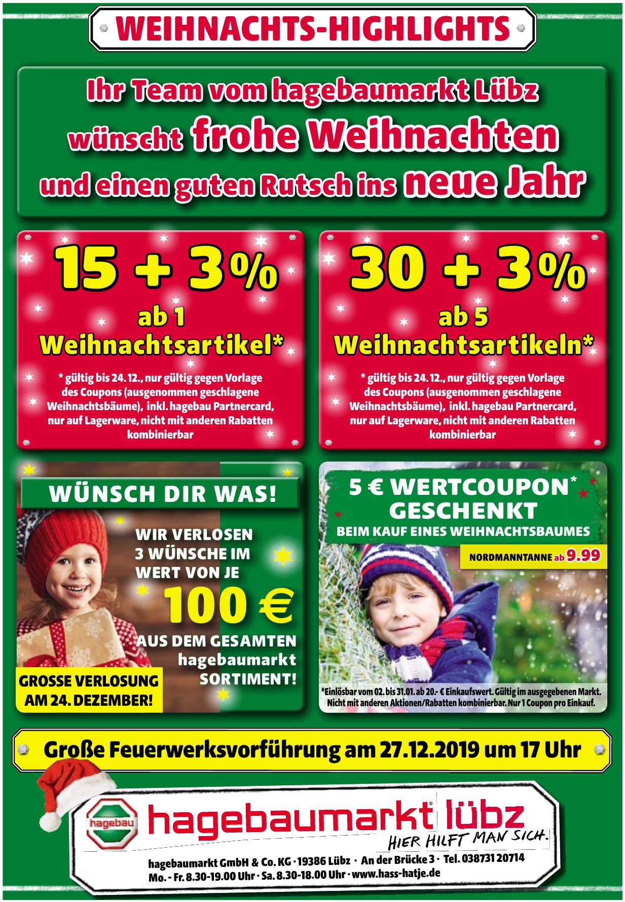 hagebaumarkt GmbH & Co. KG .