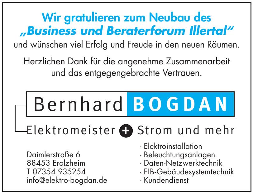 Bernhard Bogdan Elektro