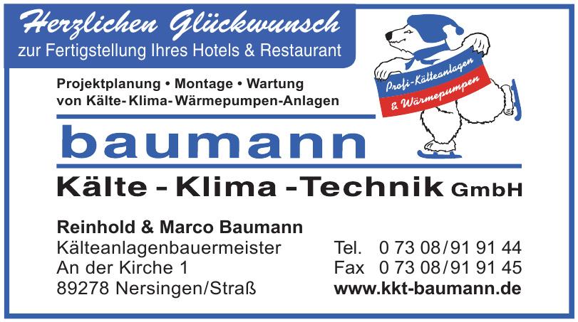 Baumann Kälte-Klima-Technik GmbH