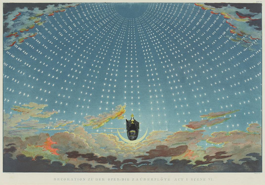 K. F. Schinkel. Sammlung von Theater-Dekorationen. Berlin 1819-47. Foto: Venator & Hanstein