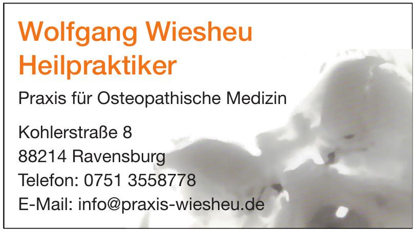 Wolfgang Wiesheu Heilpraktiker