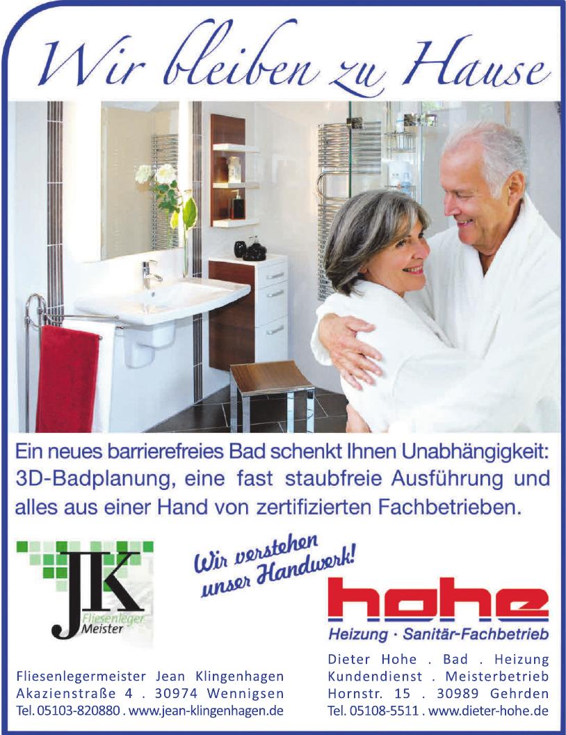 Fliesenlegermeister Jean Klingenhagen GmbH