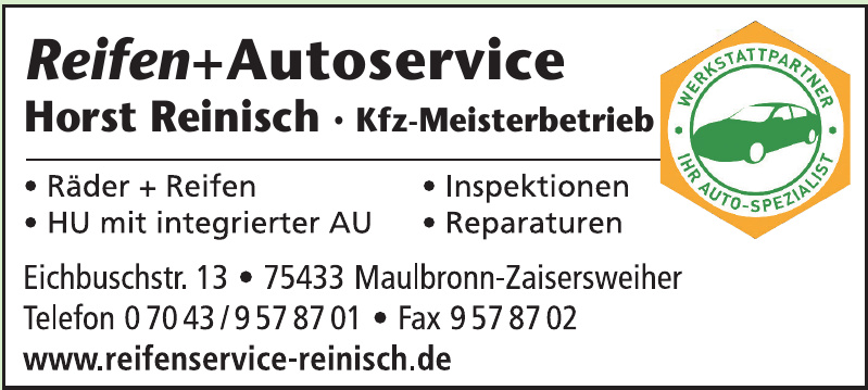 Reifen + Autoservice Horst Reinisch