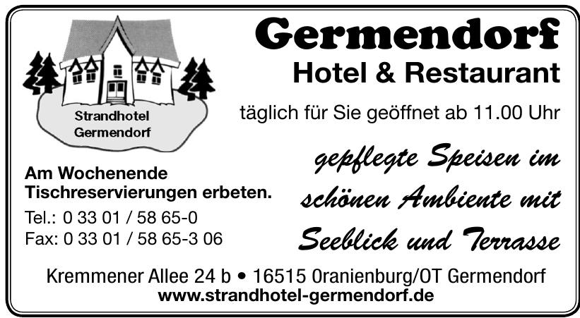 Germendorf Hotel & Restaurant