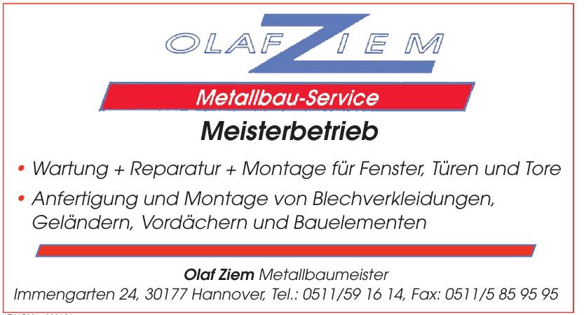 Olaf Ziem Metallbaumeister