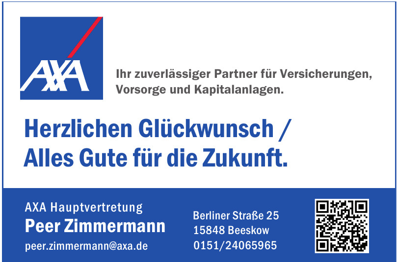 AXA Hauptvertretung Peer Zimmermann