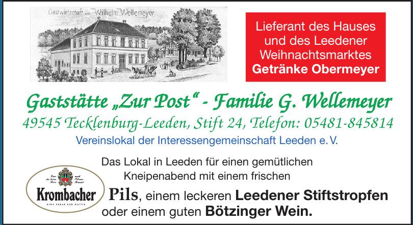 """Gaststätte """"Zur Post"""""""
