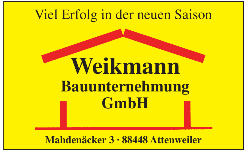 Weikmann Bauunternehmung GmbH