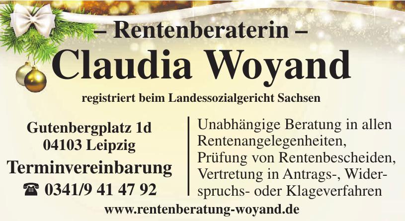 Rentenberaterin Claudia Woyand