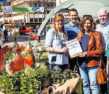 """In der Kategorie """"Dekoration allgemein"""" ging der Preis im vergangenen Jahr an Koller Floristik & Dekoration. FOTO: B. BERTRAM/FREI"""
