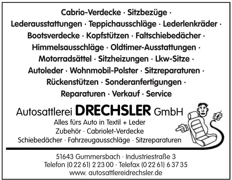 Autosattlerei Drechsler GmbH