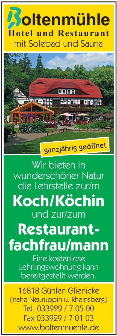 Boltenmühle Hotel und Restaurant