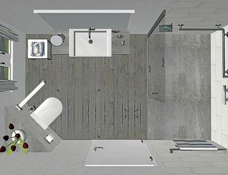 Die Firma Gebhardt & Sohn setzt die individuellen Wünsche der Kunden für ein barrierefreies Badezimmer um.FOTO: GEBHARDT & SOHN