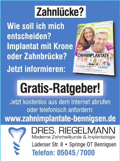 Dres. Riegelmann Moderne Zahnheilkunde & Implantologie