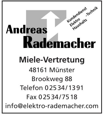 Andreas Rademacher Miele-Vertretung