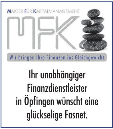 MFK GmbH - Makler für Kapitalmanagement