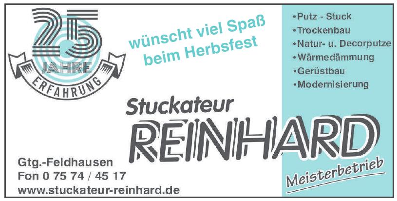 Stuckateur Reinhard