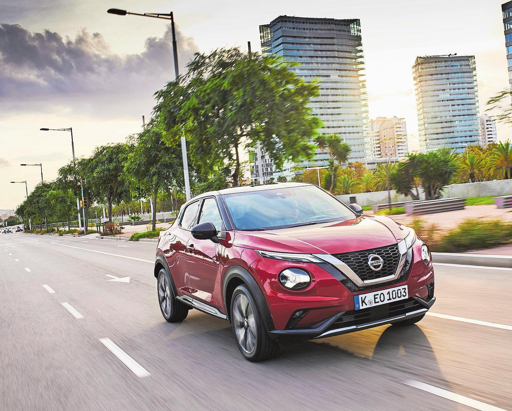 Beim Nissan Juke führen neueste Technologien zu mehr Sicherheit auf der Strasse. Bild: PD