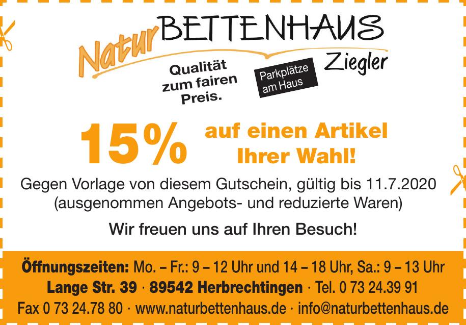 Natur Bettenhaus Ziegler