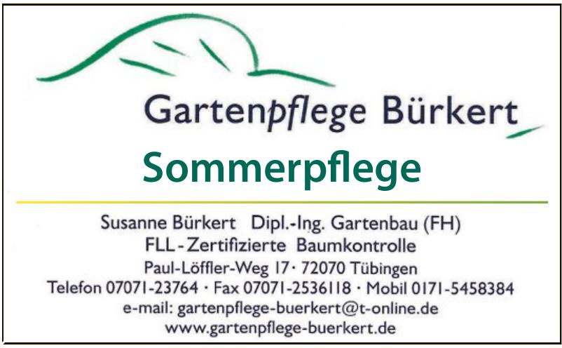 Gartenpflege Bürkert