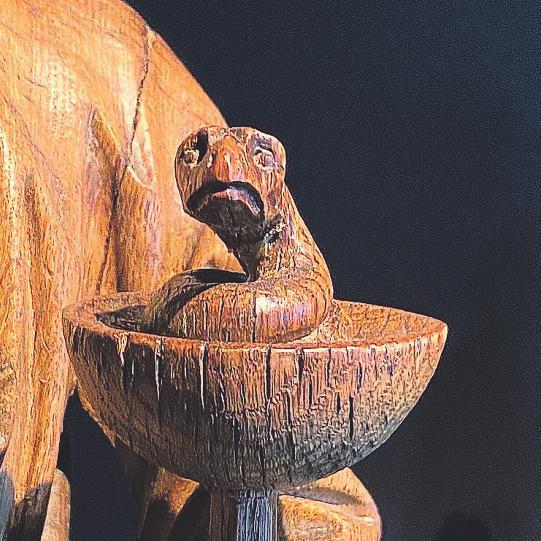 Detail von Johannes der Evangelist, Privatbesitz, Bild: Kim Mildebrath