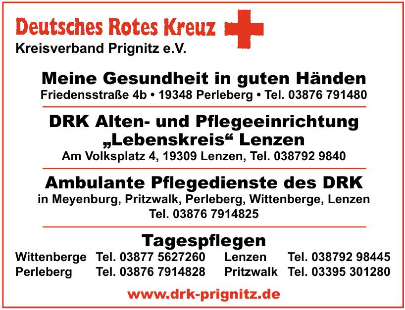 Deutsches Rotes Kreuz  Kreisverband Prignitz e.V