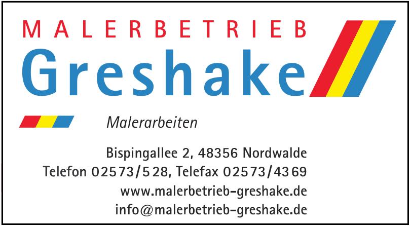Malerbetrieb Greshake GmbH