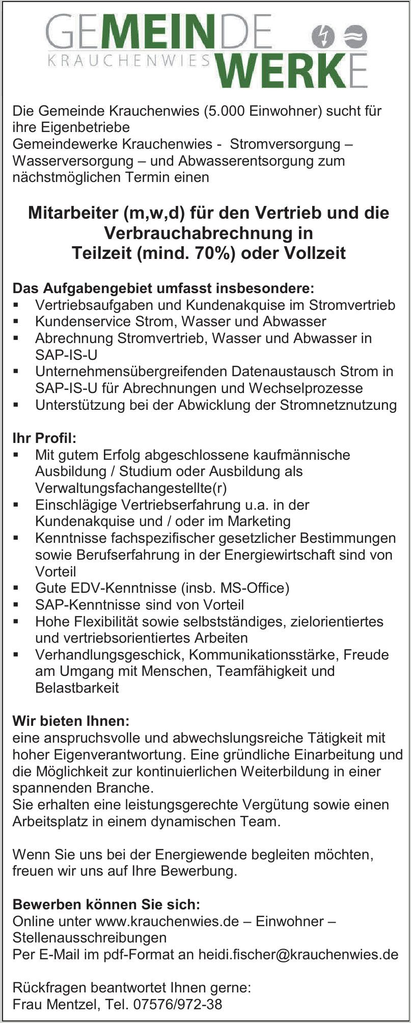 Gemeinde Krauchenwies