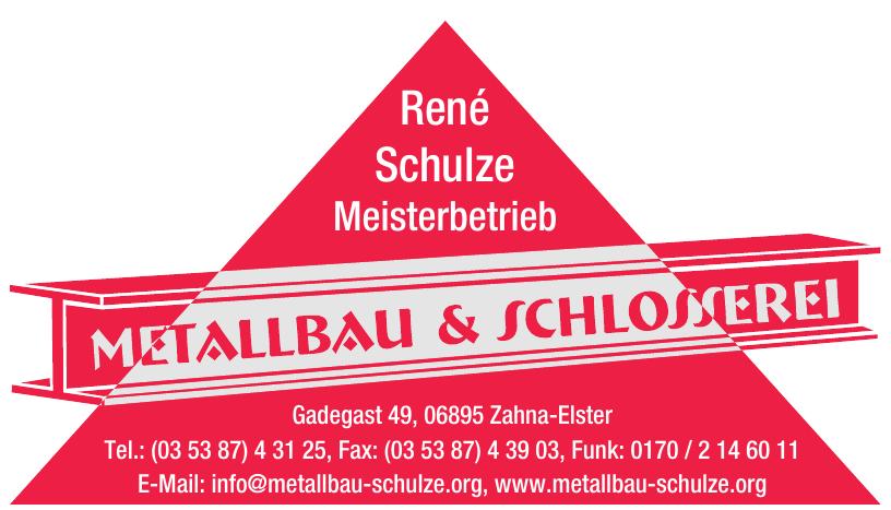 René Schulze Meisterbetrieb