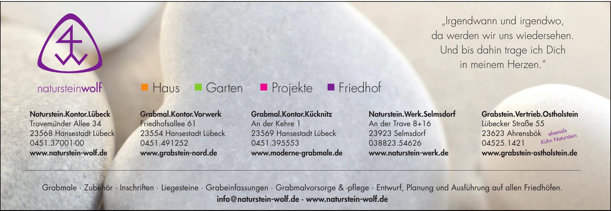 Naturstein Wolf - Naturstein.Kontor.Lübeck