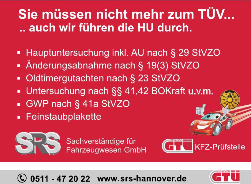 SRS Sachverständige für Fahrzeugwesen GmbH